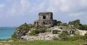 Tulum, Messico: l'antica città Maya dell'alba