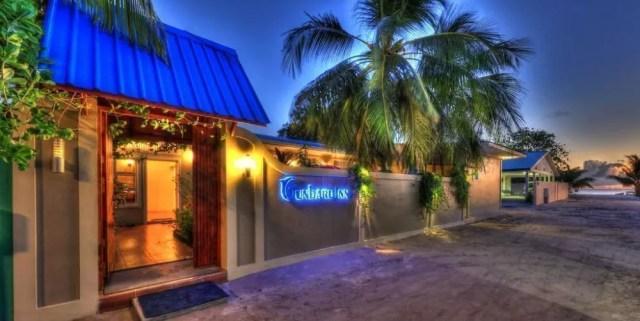 Dormire alle Maldive, recensione guest house Gunbaru Inn a Ukulhas
