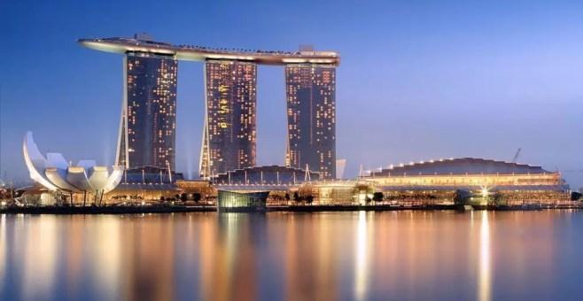 Una notte al Marina Bay Sands, Singapore
