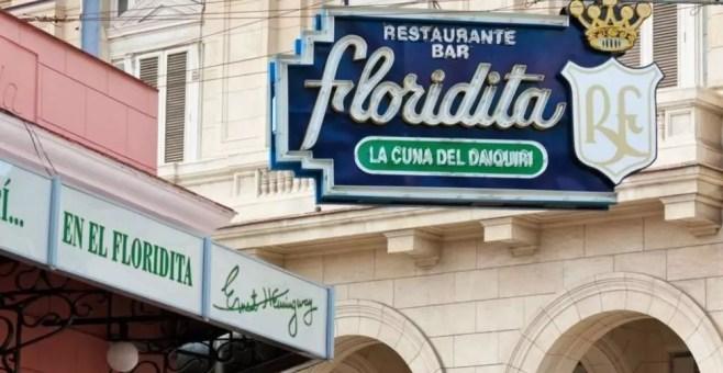 Floridita cocktail bar a L'Avana