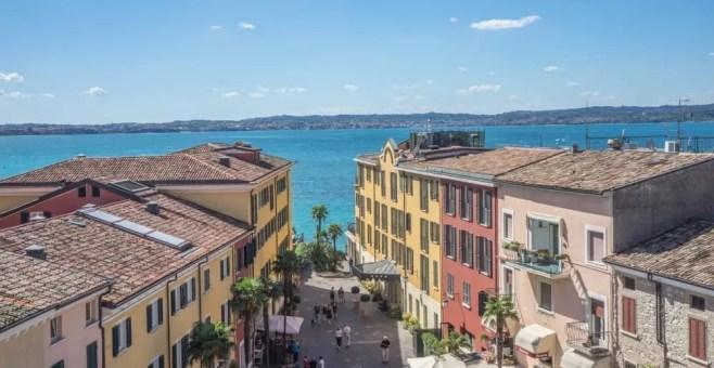 Lago di Garda in un giorno