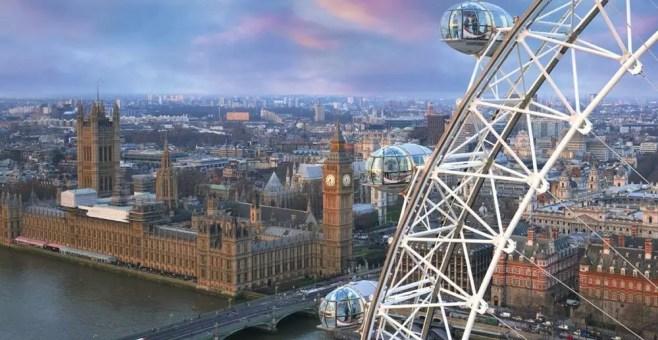 Londra: 10 luoghi dove vederla dall'alto