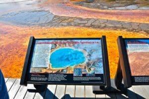 Midway Geyser Basin Yellowstone
