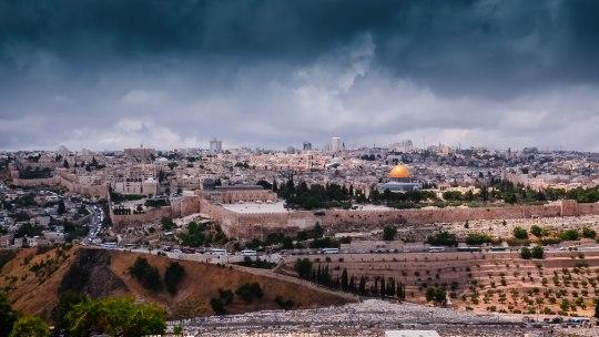Gerusalemme,un grande mosaico colorato.