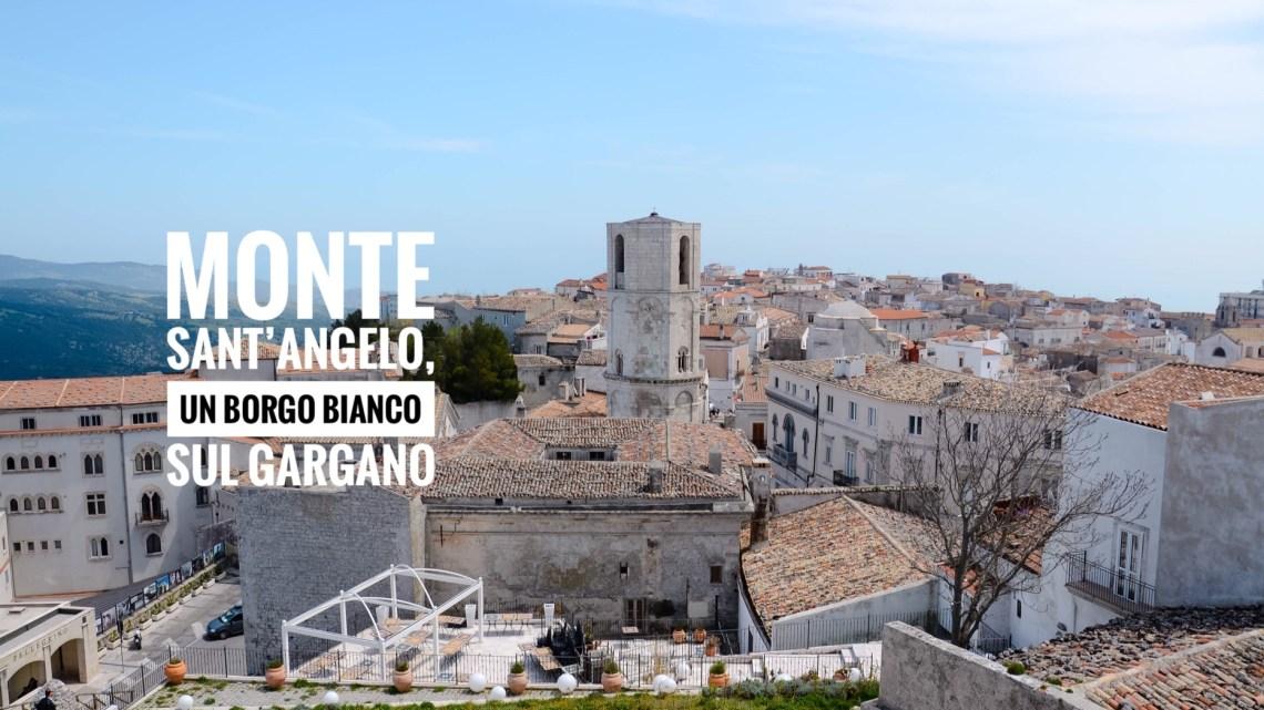 Monte Sant'Angelo,un borgo bianco sul Gargano.
