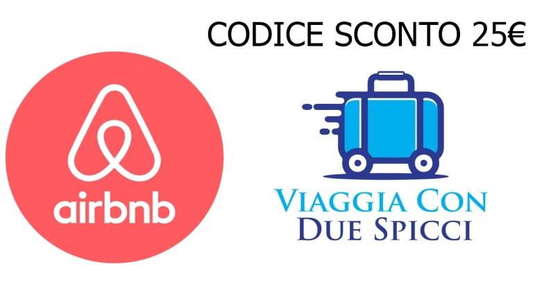 Codice 25€ AirBnb