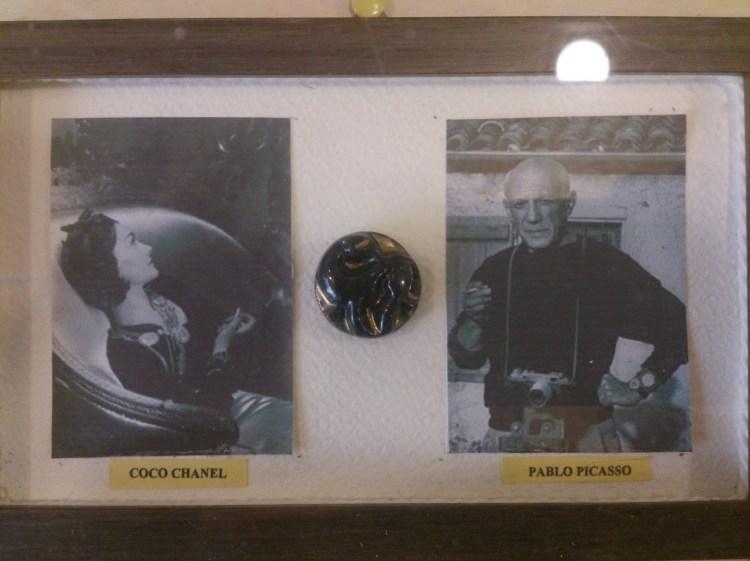 museo del bottone pablo picasso coco chanel