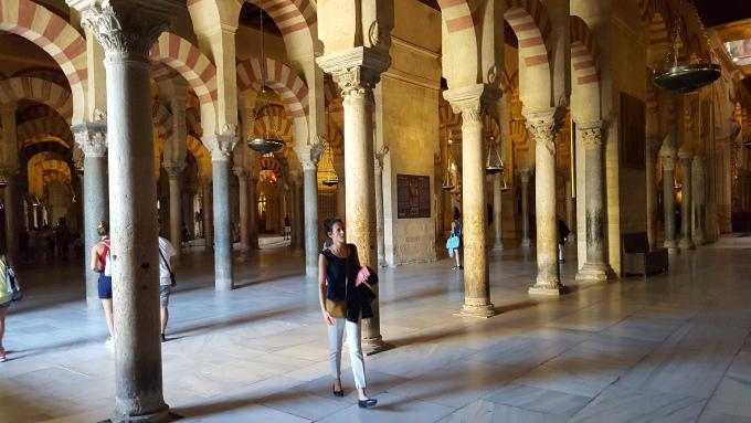 cordoba interni moschea cattedrale