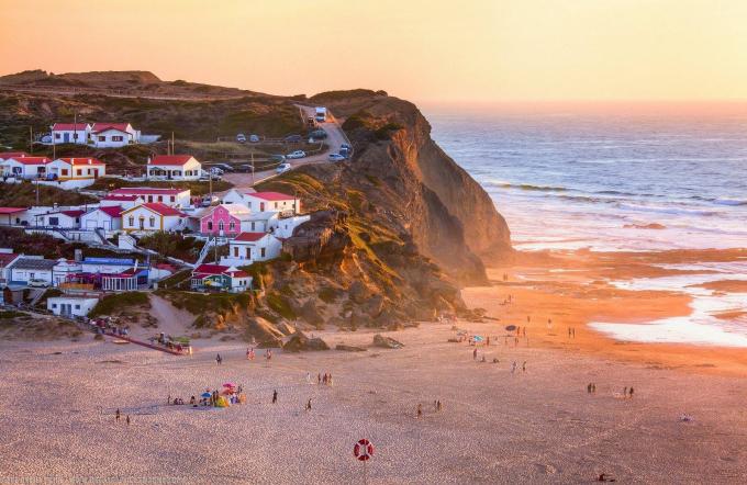 spiagge del portogallo monte clerigo