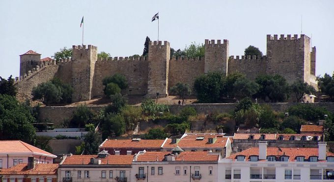 lisbona castello di sao jorge