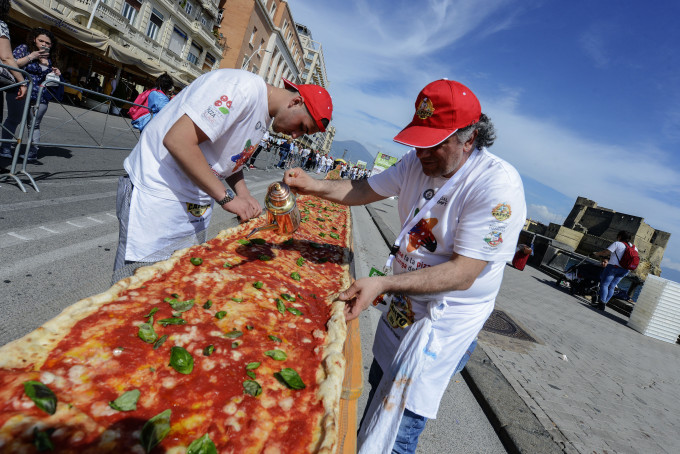 pizza unesco guiness world record