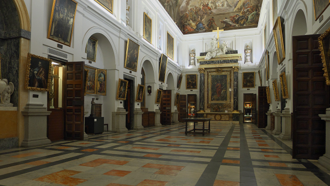 sacrestia cattedrale toledo