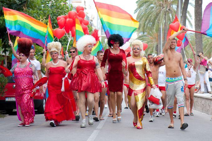 sfilata LGBT carnevale di sitges