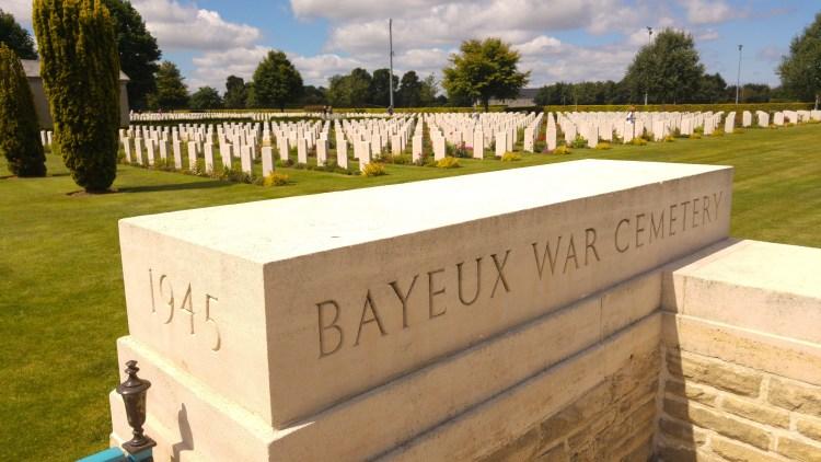ll cimitero militare britannico di bayeux