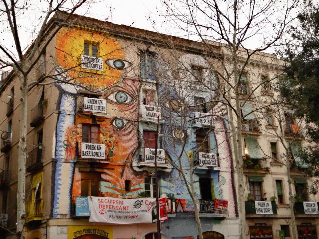 barcelona case del raval