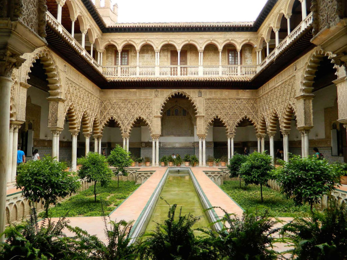 week-end a sevilla real alcazar