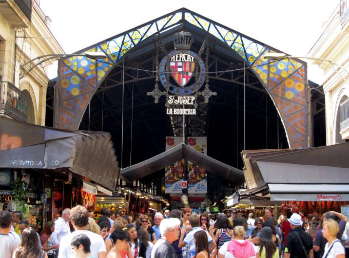 barcelona mercato boqueria