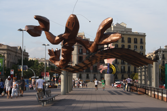 barcelona scultura aragsta
