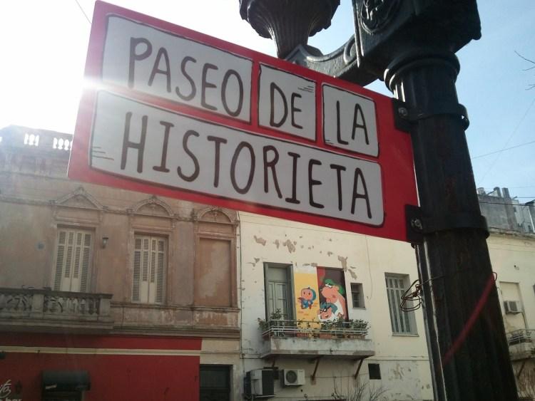 Il Paseo de la Historieta a Buenos Aires