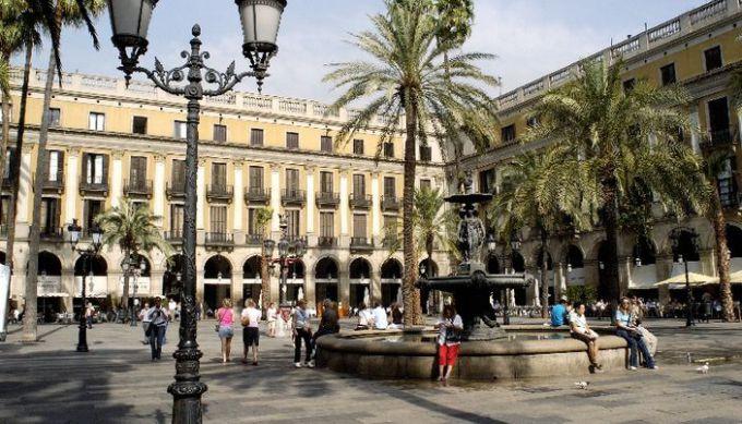 barcelona piazza reale