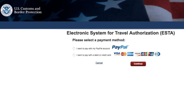 sistema pagamento esta