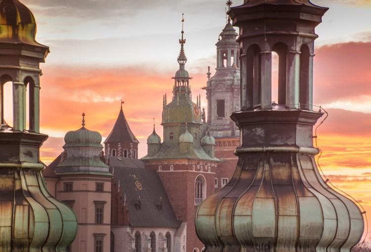 cupole e tetti di cracovia