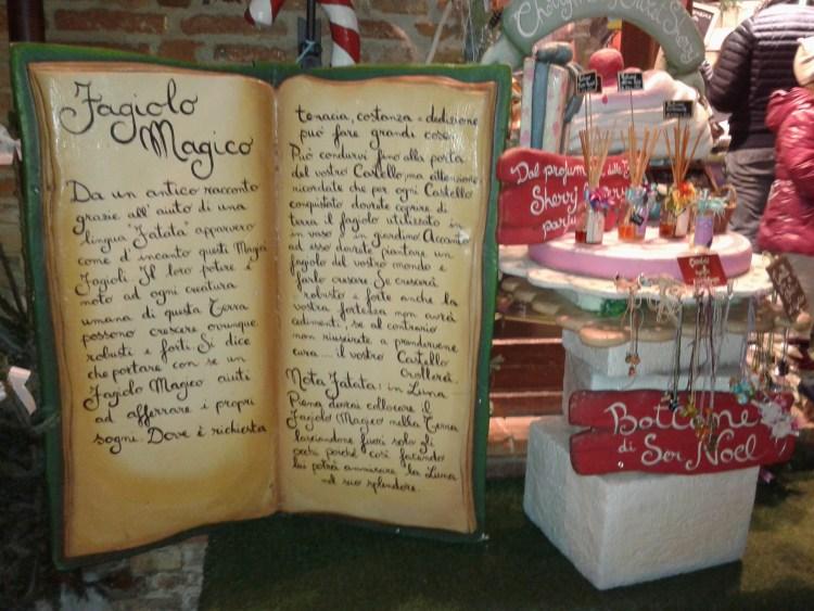 decorazioni natalizie a gradara