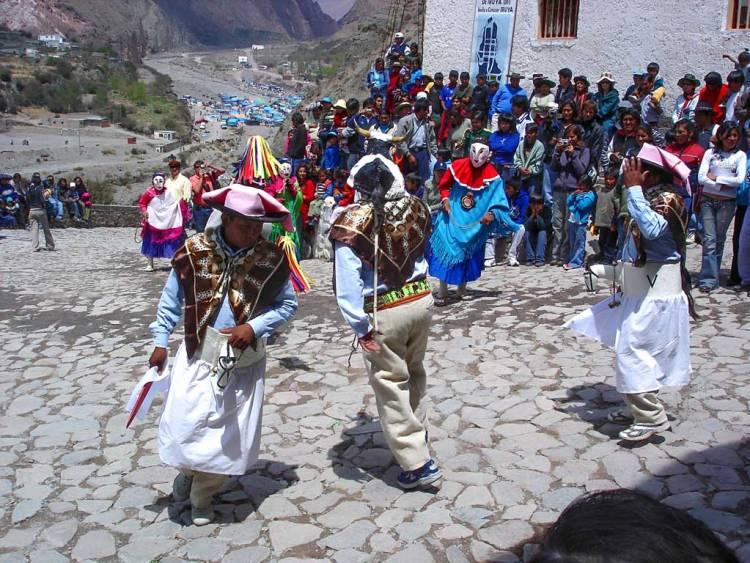 danza tradizionale a iruya provincia di jujuy