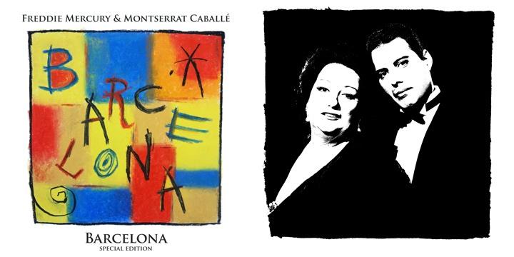 copertina album barcelona freddie mercury