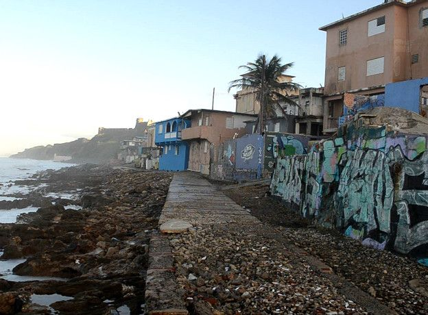 quartiere de la perla a san juan de porto rico