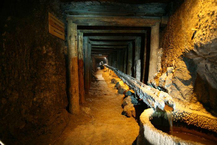 le gallerie della miniera di sale di wieliczka