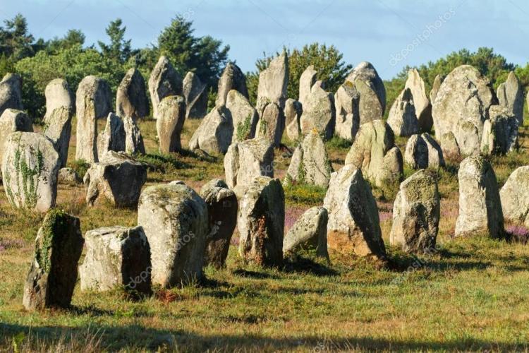 menhir degli allineamenti di carnac