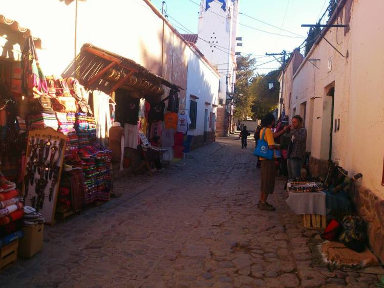 strade di humahuaca provincia di jujuy