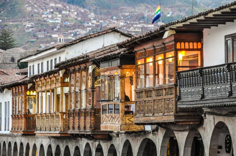 architettura coloniale a cusco