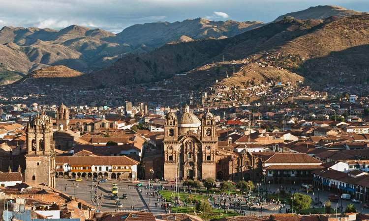 panoramica di cusco