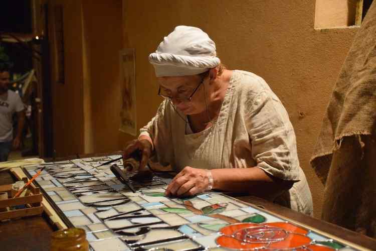 artigiani al palio del daino di mondaino