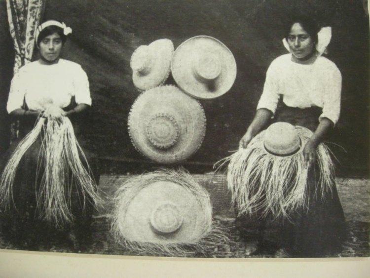 produzione artigianale cappello panama