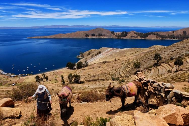abitanti indigeni della isla del sol