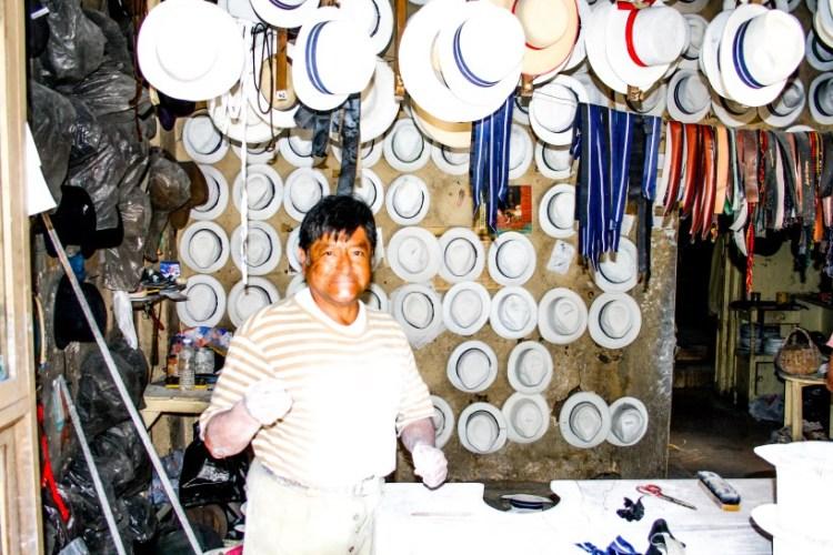 laboratorio di cappelli panama