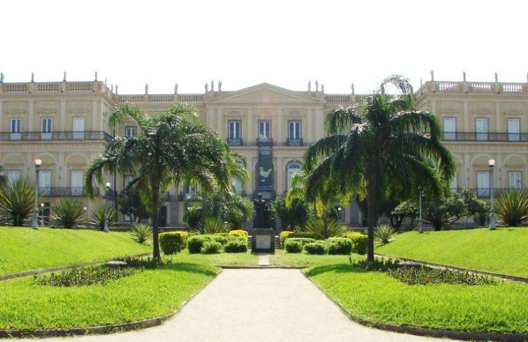 L'edificio del Museo Nazionale del Brasile