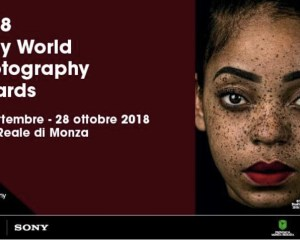 locandina della sony world photography awards 2018
