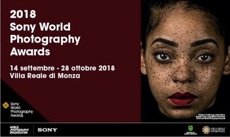 locandina della sony world photography awards 2018