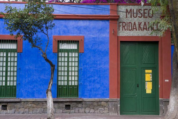 l'ingresso della casona azul Museo Frida Kalho