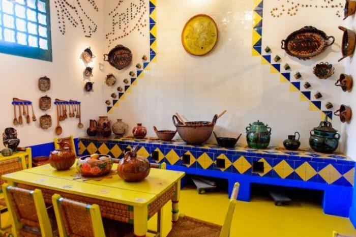 la cucina del Museo Frida Kalho