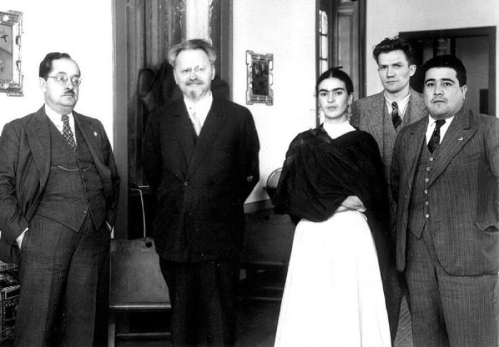 Frida Kahlo e Leon Trotsky nell'archivio del Museo Frida Khalo