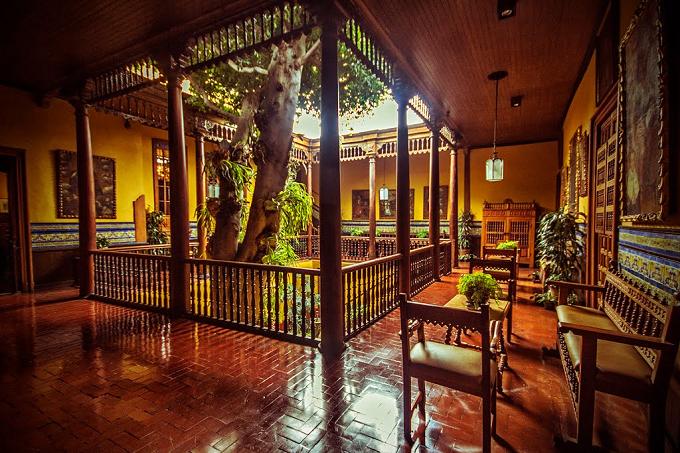 la casa aliaga a lima capitale del perù