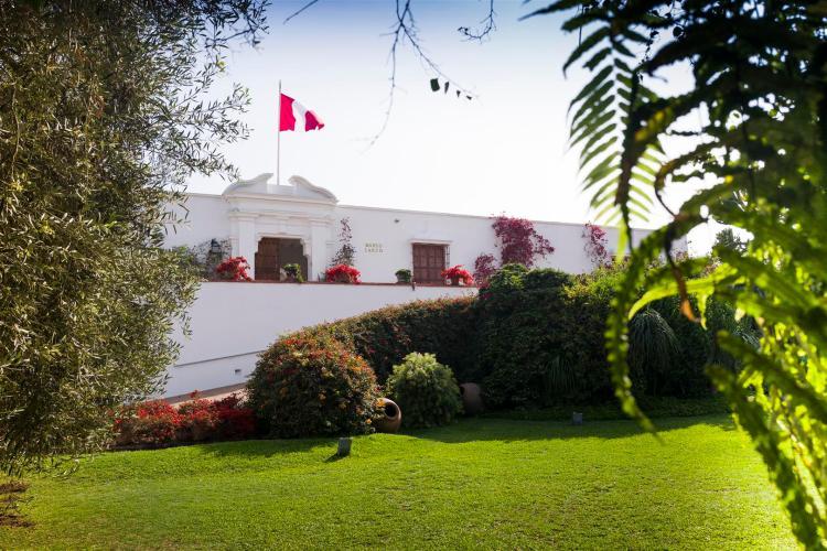 L'edificio che ospita il Museo Larco di Lima