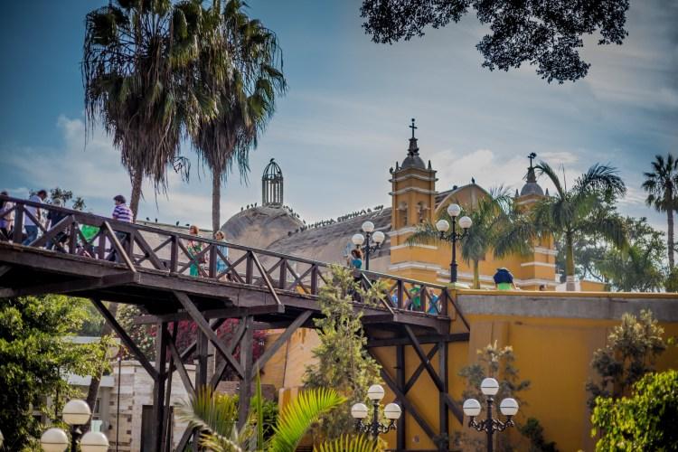 il barranco uno dei quartieri della capitale del perù