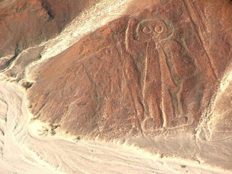 l'astronauta figura delle Linee di Nazca