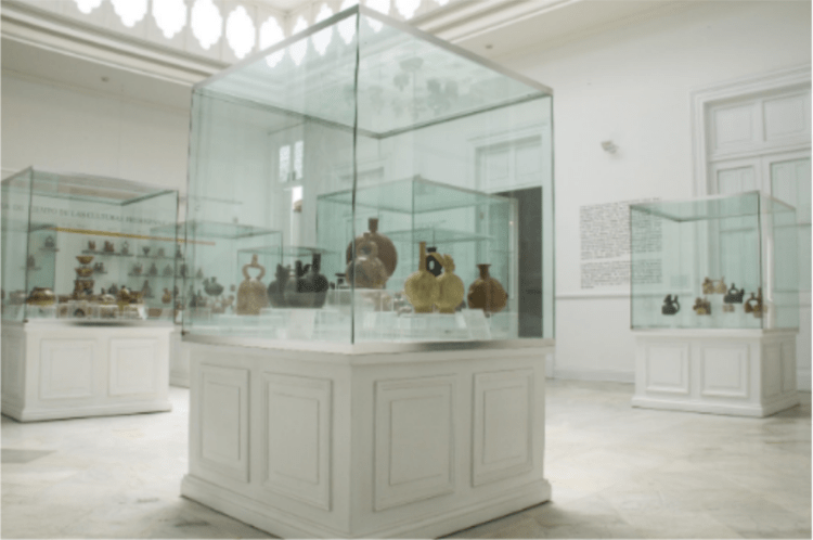 la sala blanca del museo dei minerali andrés del castillo